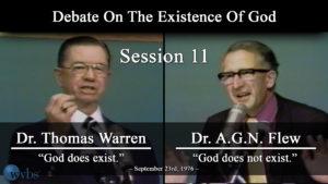 Session 11 (September 23) | Warren-Flew Debate