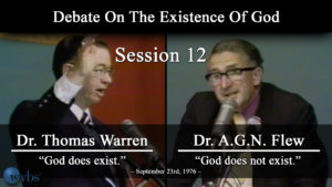 Session 12 (September 23) | Warren-Flew Debate