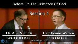 Session 4 (September 21) | Warren-Flew Debate