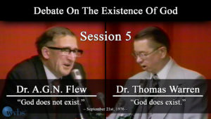 Session 5 (September 21) | Warren-Flew Debate