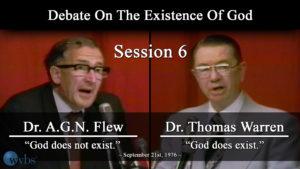 Session 6 (September 21) | Warren-Flew Debate