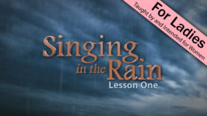 1. Singing in the Rain
