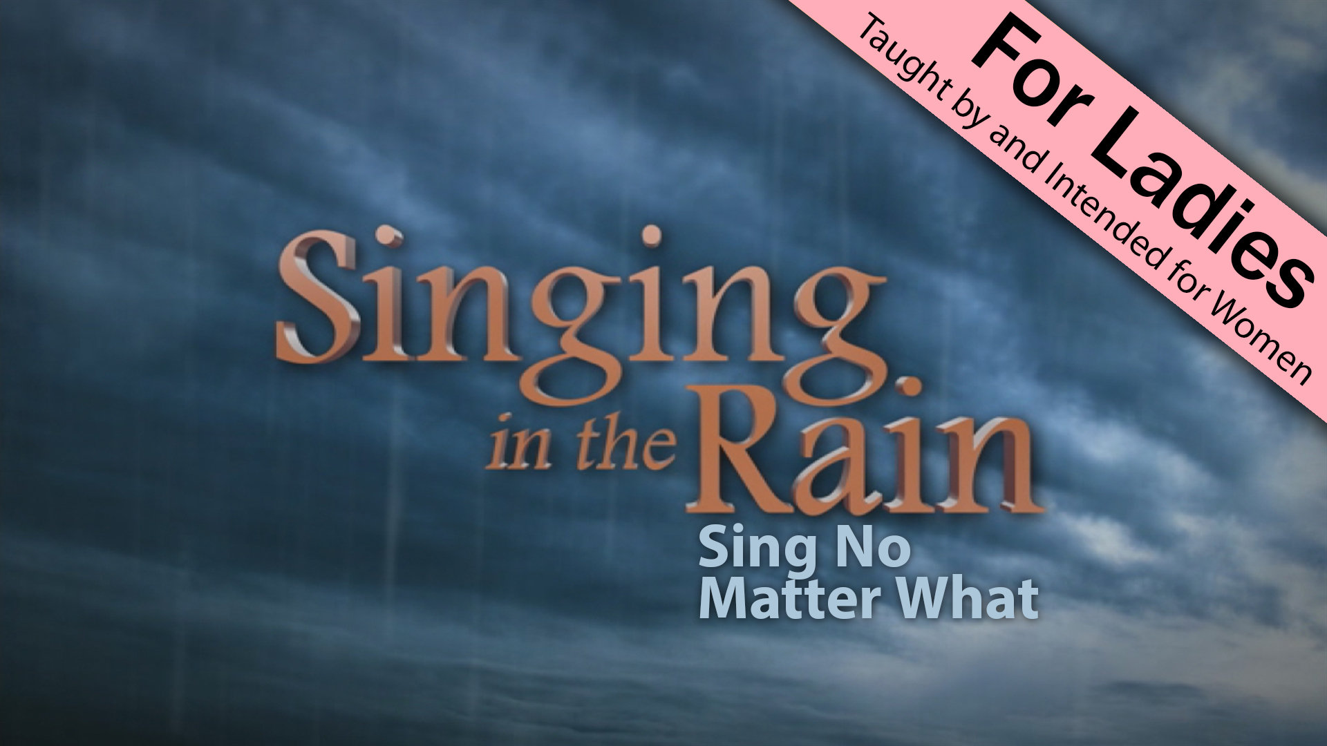 2 Singing In The Rain Sing No Matter What Wvbs Online Video
