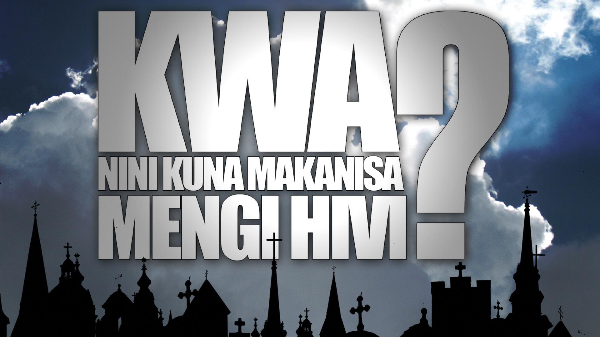 Kwa Nini Kuna Makanisa Mengi Hivi? (Why Are There So Many Churches?) - Swahili Version